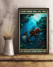 Diving Choose ST Fun PDN-NTH 11x17 Poster lifestyle-poster-3