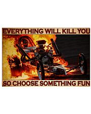 Drag Racing Choose ST Fun7 PDN-DQH 36x24 Poster front