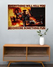 Drag Racing Choose ST Fun7 PDN-DQH 36x24 Poster poster-landscape-36x24-lifestyle-21