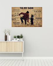 Hockey To My Son PDN ngt 36x24 Poster poster-landscape-36x24-lifestyle-01