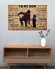 Hockey To My Son PDN ngt 36x24 Poster poster-landscape-36x24-lifestyle-21