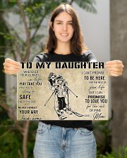 Skiing To My Daughter PDN-dqh 17x11 Poster poster-landscape-17x11-lifestyle-19