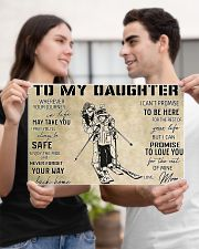 Skiing To My Daughter PDN-dqh 17x11 Poster poster-landscape-17x11-lifestyle-20