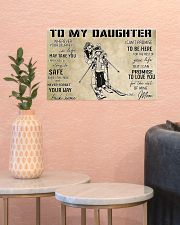 Skiing To My Daughter PDN-dqh 17x11 Poster poster-landscape-17x11-lifestyle-21