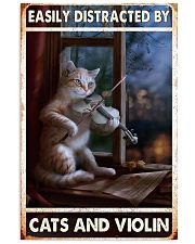 Cats Violin Easily Distracted 11x17 Poster front