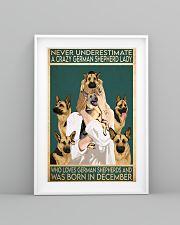 Crazy German Shepherd december 11x17 Poster lifestyle-poster-5