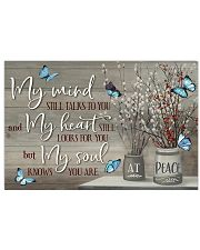 Butterfly My Mind Still Talk To You PDN-DQH 17x11 Poster front