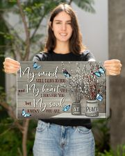 Butterfly My Mind Still Talk To You PDN-DQH 17x11 Poster poster-landscape-17x11-lifestyle-19