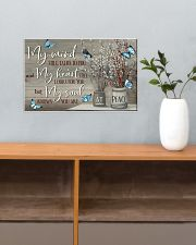 Butterfly My Mind Still Talk To You PDN-DQH 17x11 Poster poster-landscape-17x11-lifestyle-24