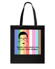 RB lgbt speak your mind mas lqt-NTH Tote Bag thumbnail