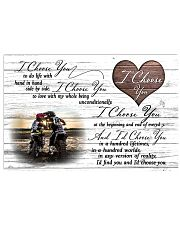 Motorcross I choose you 17x11 Poster front