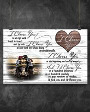 Motorcross I choose you 17x11 Poster poster-landscape-17x11-lifestyle-12