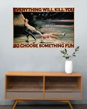 Ice Skating Choose ST Fun PDN-DQH  36x24 Poster poster-landscape-36x24-lifestyle-21