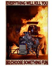 Drag Racing Choose ST Fun6 PDN-DQH 24x36 Poster front
