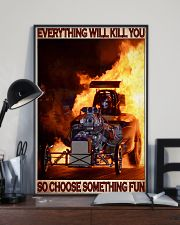 Drag Racing Choose ST Fun6 PDN-DQH 24x36 Poster lifestyle-poster-2