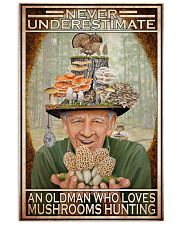 Mushroom Never Under Estimate An Old Man PDN-DQH 11x17 Poster front