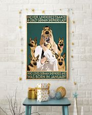 Crazy German Shepherd january 11x17 Poster lifestyle-holiday-poster-3