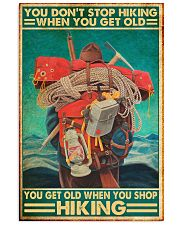 hiking you don't stop pdn-nna  11x17 Poster front