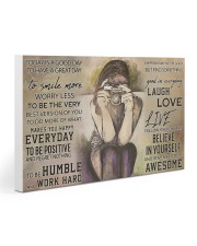 Photograph Today Is A Good Day PDN-ngt Gallery Wrapped Canvas Prints tile