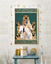 Crazy German Shepherd april 11x17 Poster lifestyle-holiday-poster-3