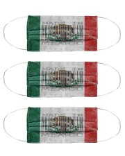 Mexico Made In Code Cloth Face Mask - 3 Pack front