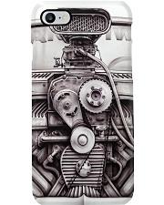 Drag Racing Engine PDN 5-NTH Phone Case i-phone-8-case
