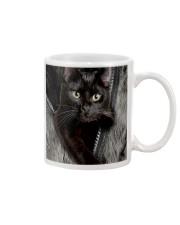 Cat Black Fur PC-NTH Mug tile