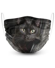 Cat Black Fur PC-NTH Masks tile