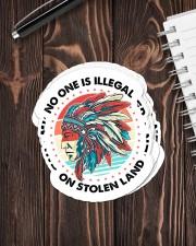 Native Stolen Land Sticker - 6 pack (Vertical) aos-sticker-6-pack-vertical-lifestyle-front-05
