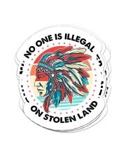 Native Stolen Land Sticker - 6 pack (Vertical) front