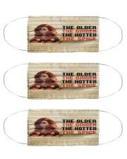 The older Ginger Cloth Face Mask - 3 Pack front