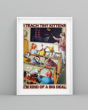 Cat Teacher I Teach Tiny Kittens PDN-dqh 24x36 Poster lifestyle-poster-5