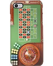 Vintage Roulette Table PDN-pml Phone Case i-phone-8-case