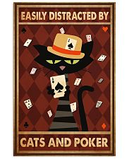 Cat Poker Easily Distracted PDN-ntv 11x17 Poster front