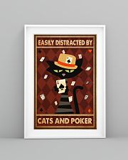 Cat Poker Easily Distracted PDN-ntv 11x17 Poster lifestyle-poster-5