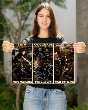 Auto Mechanic Sane Person PDN-dqh 17x11 Poster poster-landscape-17x11-lifestyle-19