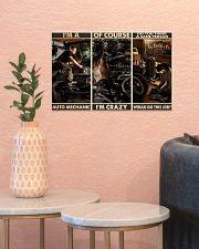 Auto Mechanic Sane Person PDN-dqh 17x11 Poster poster-landscape-17x11-lifestyle-21
