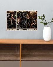 Auto Mechanic Sane Person PDN-dqh 17x11 Poster poster-landscape-17x11-lifestyle-24