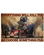 Drag Racing Choose ST Fun 9 PDN-DQH  36x24 Poster front