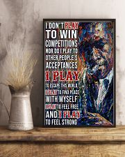 Saxophone To Feel Strong PDN-pml 11x17 Poster lifestyle-poster-3