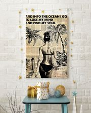 Ocean Surfing Into The Ocean I Go 11x17 Poster lifestyle-holiday-poster-3