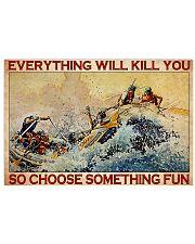 rafting choose fun dvhd -ntv 36x24 Poster front