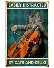Cat Cello Easily Distracted 11x17 Poster front