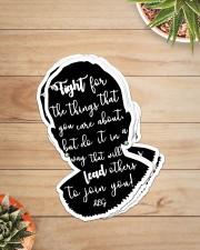 RB fight for the thing sticker cva Sticker - 6 pack (Vertical) aos-sticker-6-pack-vertical-lifestyle-front-07