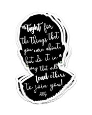 RB fight for the thing sticker cva Sticker - 6 pack (Vertical) front