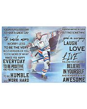 Hockey Today Is A Good Day PDN ngt Horizontal Poster tile