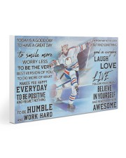 Hockey Today Is A Good Day PDN ngt 30x20 Gallery Wrapped Canvas Prints thumbnail
