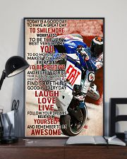 Motor Today Is A Good Day 99 24x36 Poster lifestyle-poster-2
