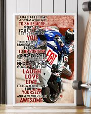 Motor Today Is A Good Day 99 24x36 Poster lifestyle-poster-4