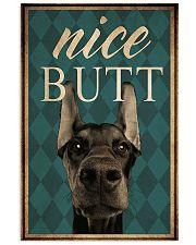 Doberman Nice Butt 11x17 Poster front
